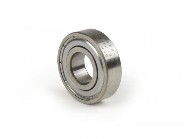 Rodamiento de bolas -6001 Z/C3 (sellado en un lado)- (12x28x8mm) - (para arranque eléctrico/arranque/motor de arranque Vespa PX, Cosa)