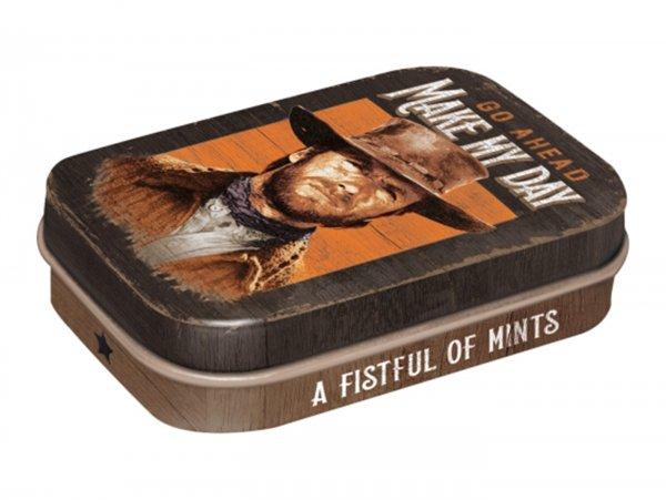 "Pillendose -Nostalgic Art- ""A Fistful of Mints"" - 4x6x2cm"