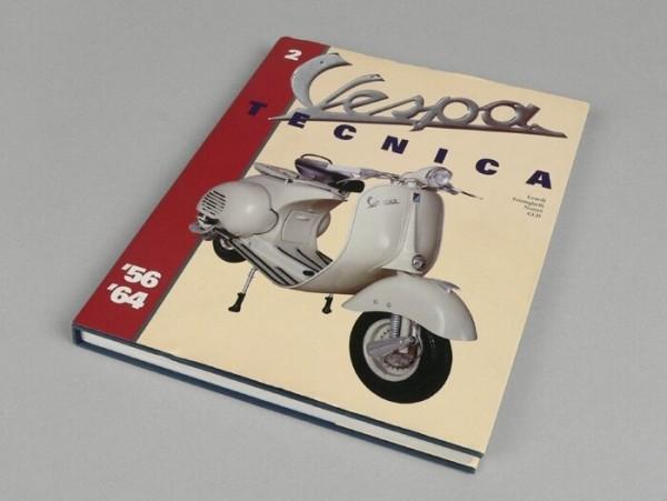 Buch -Vespa Tecnica II 1956-1964- Deutsch