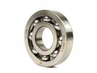Ball bearing for crankshaft -MALOSSI MHR- 613912 (25x62x12mm) - C4, ball Ø=10.3mm, carbonitrided inner ring - (used for crankshaft, drive side Vespa PX, T5 125cc, Rally180, Rally200, Sprint, GS150 / GS3, VNA, VNB, VBA)