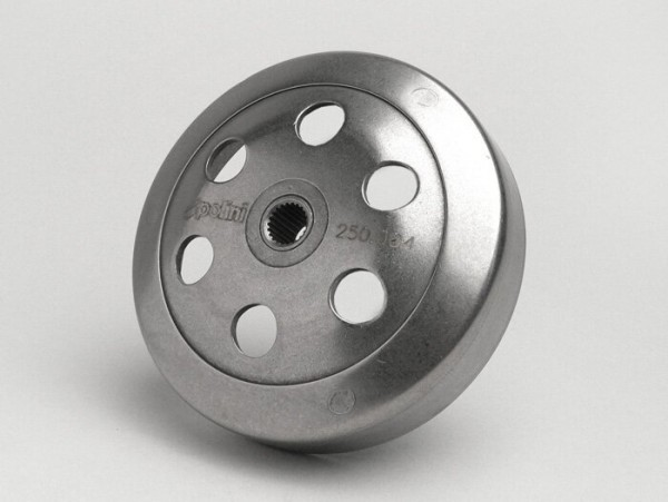 Kupplungsglocke -POLINI Speedbell- Peugeot 50 ccm, Honda 50 ccm, Kymco 50 ccm, SYM 50 ccm, GY6 (4-Takt) 50ccm  Ø=107mm