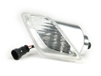 Blinker -PIAGGIO Triom- Vespa GTS (2014-, Facelift) - weiß - klarglas - hinten -
