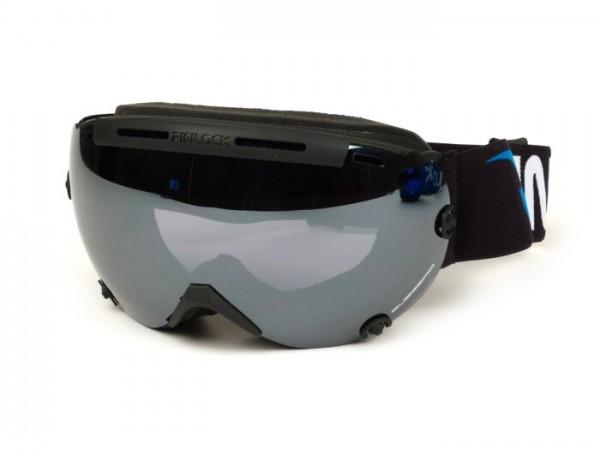 Skibrille - Goggles -PINLOCK®- Subzero,  Antifog Visier - schwarz / verspiegelt