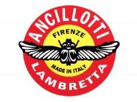 Aufkleber -LAMBRETTA Ancillotti Elaborazioni 70x60mm-