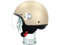Helmet -VESPA Visor 3.0- beige sahara (516A) - M (57-58cm)