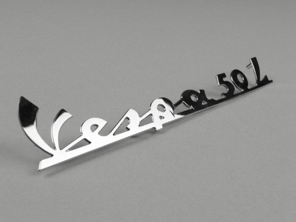 Schriftzug Rahmen hinten -OEM QUALITÄT- Vespa 50 L - Vespa 50 L (ab Bj. 1966)