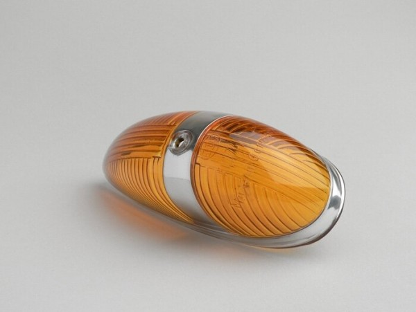 Indicator lens -VESPA GERMANY indicator at side panel- Vespa GS160 / GS4 (VSB1T), GL, VNA, VNB, VBB, T4, Sprint 1