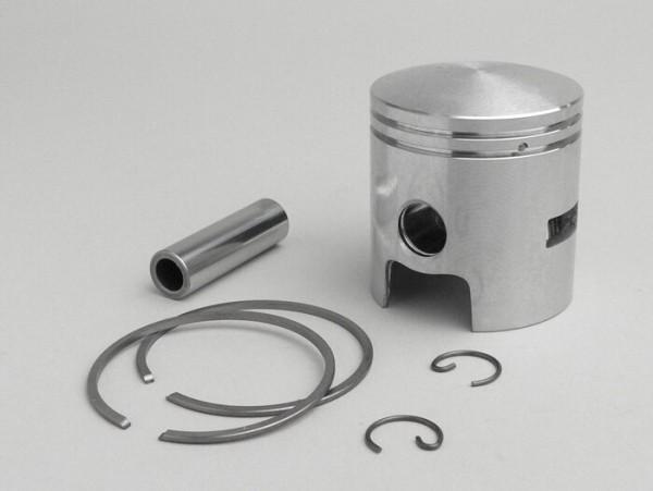 Pistón -DR- Vespa 75cc (3 lumbreras de transferencia) - 47.0mm