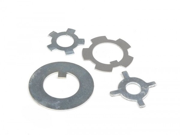 Retaining plate set for engine -LAMBRETTA- Lambretta D 125 (since 1956), LD 125 (since 1956), D 150, LD 150