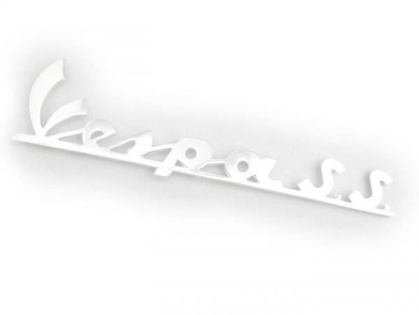 Schriftzug Beinschild -OEM QUALITÄT- Vespa Super Sport - Vespa SS180 (ab Bj. 1965)