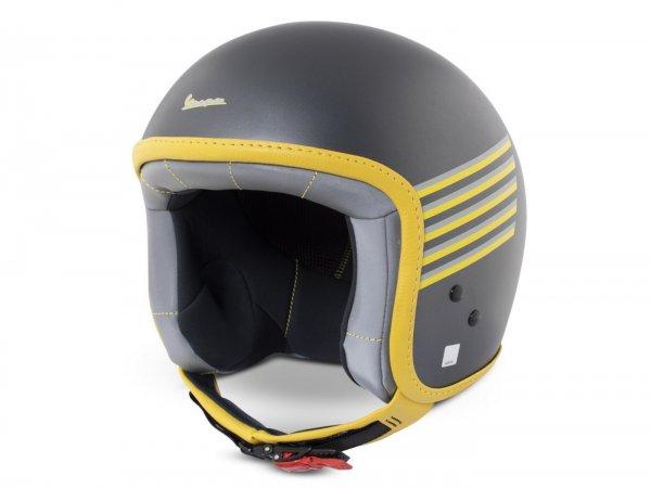 Helmet -VESPA  open face helmet Graphic- grey-  M (57-58 cm)