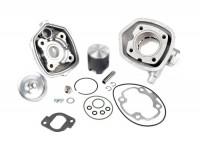 Zylinder -ITALKIT 70 ccm Alu Racing- Minarelli LC (Ø=10mm Kolbenbolzen)