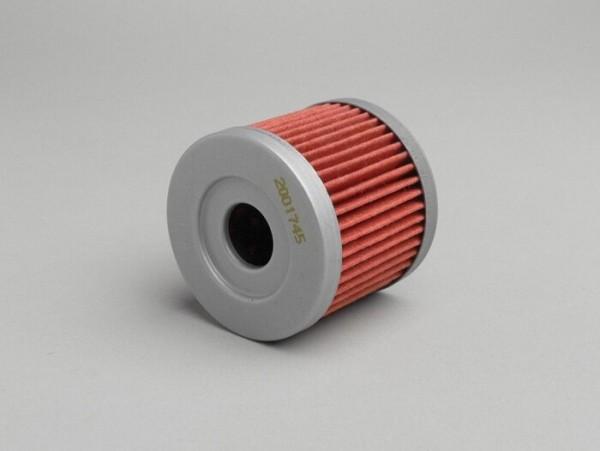 Filtro de aceite -HIFLO- Suzuki 125-400 ccm - AN125 (CF42A), AN400 Burgman (CG1111, CG1131, CG1141),UH125 Burgman K2-K9 (BP1111, CC1111), UH200 Burgman K8-K9 (CD1111), UH125 Burgman L0-L4 (CC1111), AN400 Burgman (CG1131), DR125 (VTTCS111), GN125 (NF4