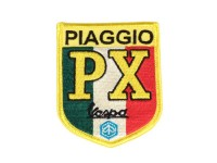 Patch thermocollant -PIAGGIO PX (tricolore italien)- 65x80mm