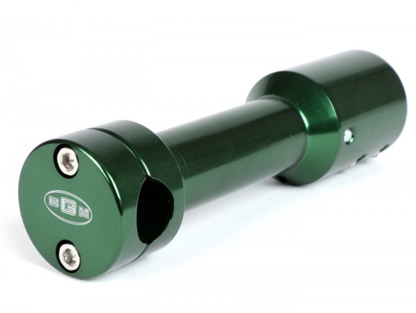 Handlebar stem -CLASSIC- Yamaha Aerox (YQ50/L, 2-stroke), MBK Nitro (YQ50/L, 2-stroke) - green