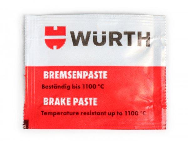 Bremsenpaste -WÜRTH 1100°C- 5,5ml