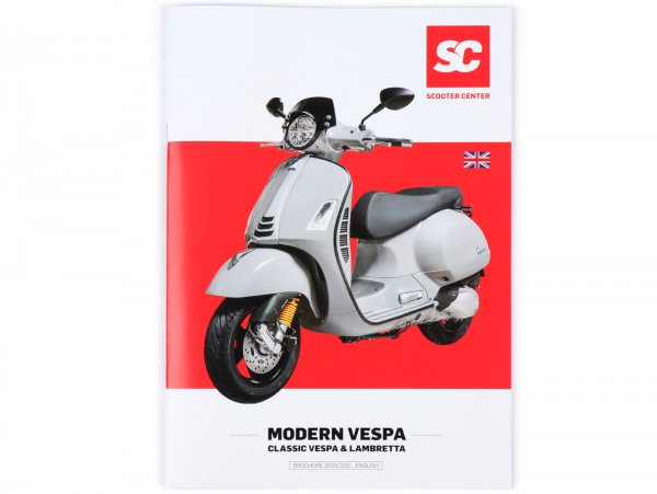 Catalog - brochure -SC MODERN VESPA + CLASSIC- edition 2020/2021 - english