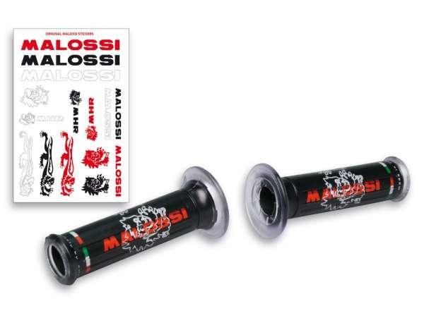 Griffe -MALOSSI- Ø=22/24mm - schwarz