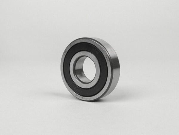 Rodamiento de bolas -6305 2RS (sellado en ambos lados)- (25x62x17mm) - (para cigüeñal en el lado del embrague Lambretta LI, LIS, SX, TV (serie 2, serie 3), DL, GP)