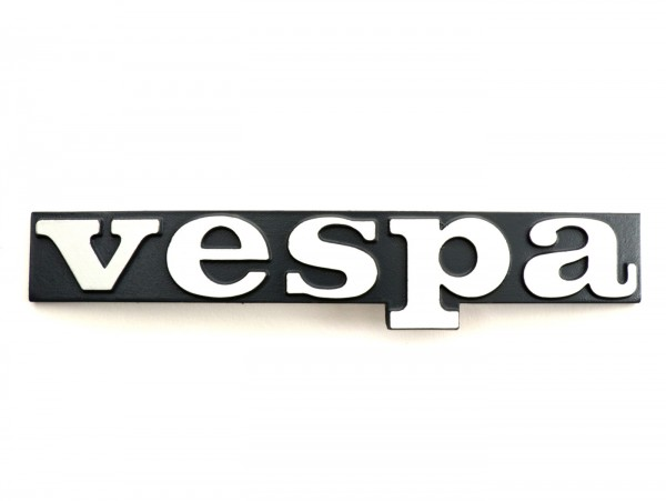 Schriftzug Beinschild -VESPA- Vespa - Vespa PX Lusso (ab Bj. 1984), Vespa T5 125cc (ab Bj. 1985)