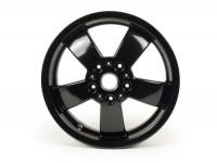 Llanta -PIAGGIO Super Sport (2017-) - negro, (3.00x12)pulgadas - 5 rayos- Vespa GT, GTL, GTS, GTV 125-300cc - trasero