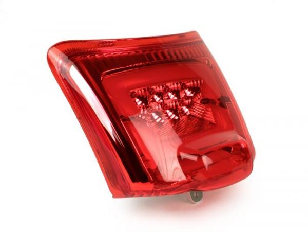 Rücklicht -MOTO NOSTRA, LED- Vespa GTS 125-300, GTV (-2014) - rot