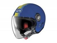 Helmet -NOLAN, N21 Visor Joie de Vivre- open face helmet, denim blue - L (59-60cm)