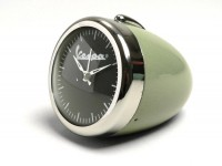 Alarm clock round -RETRO Ø=7cm- Vespa, headlight style -