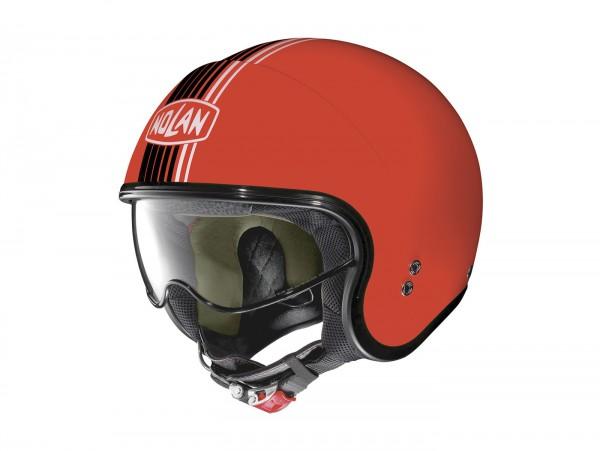 Helm -NOLAN, N21 Joie de Vivre- Jethelm, corsa red - XXL (63cm)