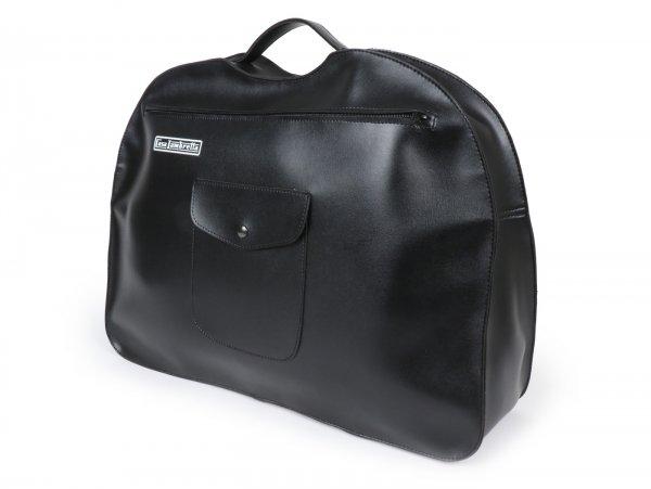 Cartera para escudo frontal -CASA LAMBRETTA- Lambretta LD, LI (serie 1, serie 2), TV (serie 1, serie 2) - negro