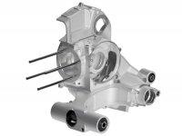 Engine casing -MALOSSI V-One, rotary valve- Vespa PX80, PX125, PX150, LML Star/Stella 125/150 Elestart