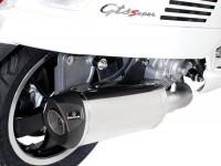 Pot d'échappement -REMUS (avec catalyseur) Ø65mm RSC- Vespa GTS 300ie SUPER (ZAPMA33) - (Euro 4, 2016-) - inox argenté