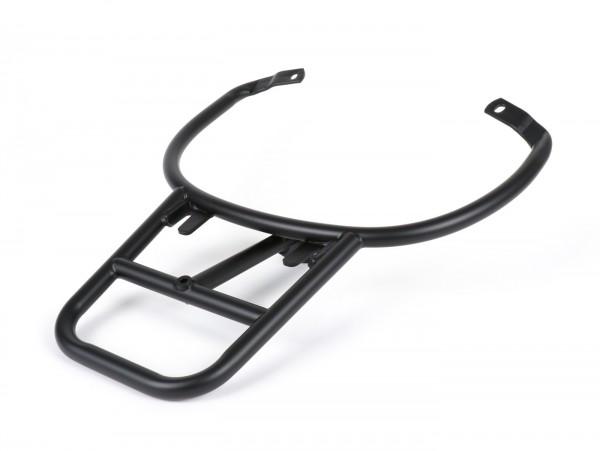 Topcase support rear (for genuine Piaggio Topcase) -MOTO NOSTRA, with pillion grab handle- Vespa Primavera 50 (ZAPC53100, ZAPC53200), Vespa Primavera 125 (ZAPM81100), Vespa Primavera 150 (ZAPM81200), Vespa Sprint 50 (ZAPC53101, ZAPC53201), Vespa S