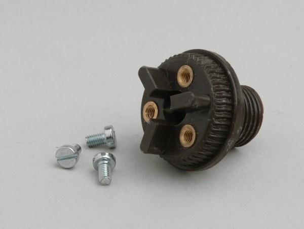 Low tension socket 6V -LAMBRETTA- A, B, C & LC, D & LD 125 (1951-1955), D & LD 150 (1954- June 1956), E, F