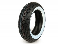 Tyre -SAVA/MITAS MC20 Monsun (M+S)- 120/70 - 10 inch TL 54L -white wall