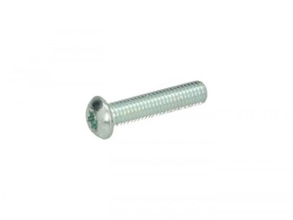 Tornillo cabeza de lente Torx M8 x 30 -ISO7380-1 TX-