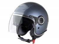 Helmet -VESPA VJ- open face helmet, silver Dolomiti - XS (52-54cm)