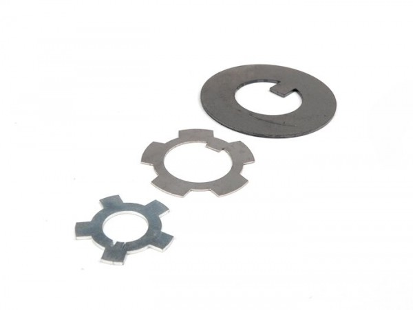 Retaining plate set for engine -LAMBRETTA- Lambretta D 125 (1951-1955), LD 125 (1951-1955)