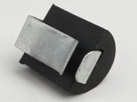 Rubber buffer side panel incl. clip -LAMBRETTA- LI (1964-), LIS (1964-), SX, TV (1964-), DL, GP