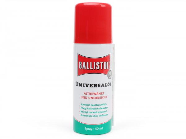 Sprühöl Universal -BALLISTOL- Spray, Multifunktionsöl - 50ml