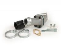 Collettore aspirazione - per valvola lamellare -POLINI lamellare 2 fori- Vespa PK S - attacco=30mm (Polini-CP 24)