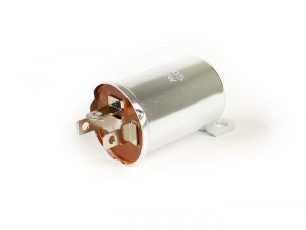 Blinkrelais -LUCAS 12V- Vespa PX (Modelle mit Batterie)