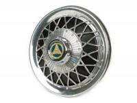 Wheel disc -FA ITALIA Old Style- 10 inch wheels - black