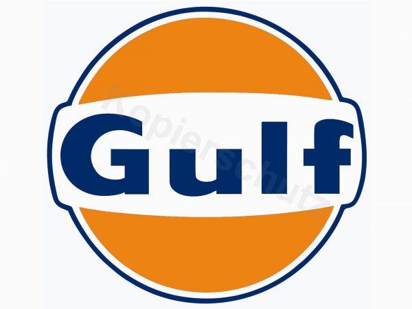 "Aufkleber -Ø 100mm- ""Gulf"""
