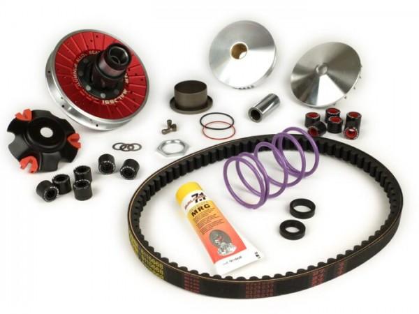 Floor board rubber -OEM QUALITY, W=14mm, 3 profile noses- Vespa 50s (V5SA1T 15324-), 90 (V9A1T -25000), VNA, VNB, VBB2T - 3900mm