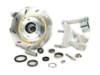 Scheibenbremse -BGM PRO Anti-Dive- Lambretta LI, LIS, SX, TV, DL, GP - inkl. Bremszange - Silber