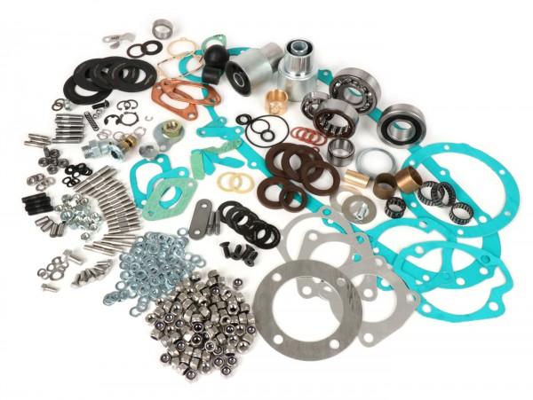 Engine repair kit -LAMBRETTA XXL- Lambretta LI, LIS, SX, TV (series 2-3), DL, GP - oil seals Casa Lambretta