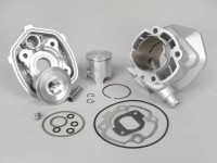 Cylinder -ITALKIT 70 cc Alloy- Minarelli LC (Ø=10mm gudgeon pin)