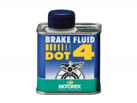 Brake fluid -MOTOREX- DOT4 - 250ml
