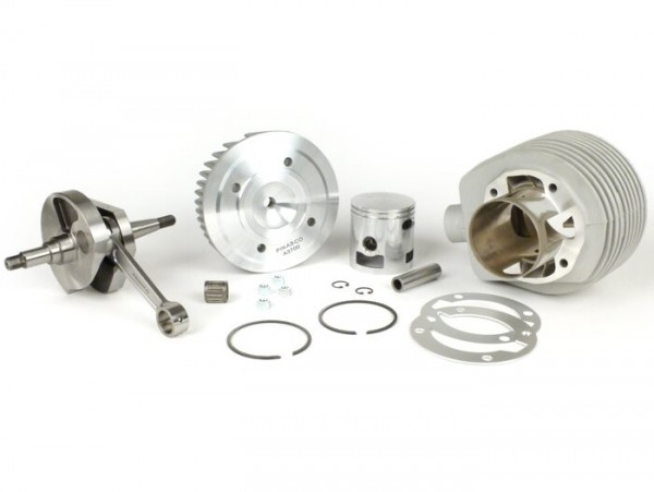 Tuning kit -PINASCO 190cc Cylinder alloy Ø=63mm, crankshaft stroke=60mm - Vespa Sprint150 (VLB1T), GT125 (VNL2T), Super150 (VBC1T 328128-)